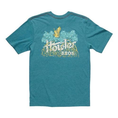 Howler Brothers Electric Mangos Pocket T-shirt Petrol