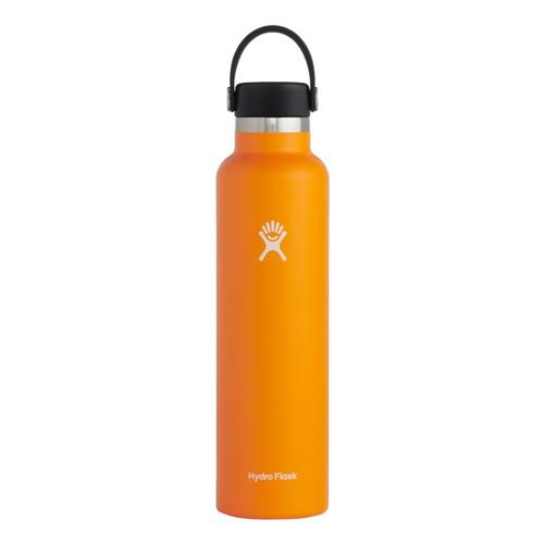 Hydro Flask Standard Mouth 24oz - Flex Cap Clementine