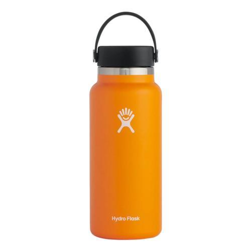 Hydro Flask 32oz Wide Mouth Bottle - Flex Cap Clementine