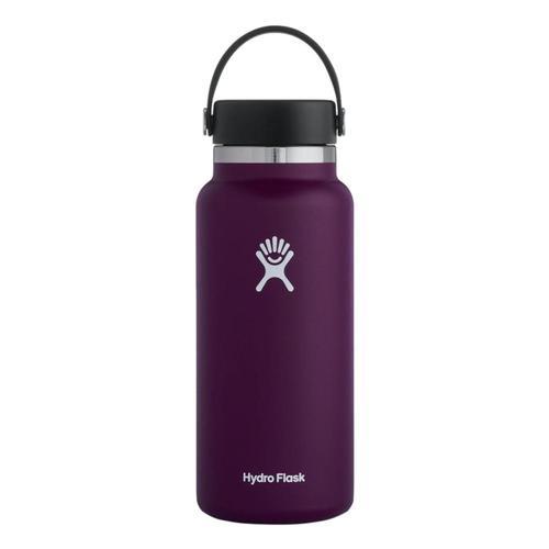 Hydro Flask 32oz Wide Mouth Bottle - Flex Cap Eggplant