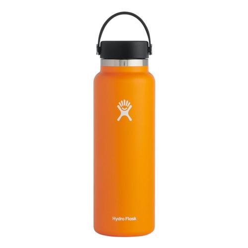 Hydro Flask Wide Mouth 40oz Bottle - Flex Cap Clementine