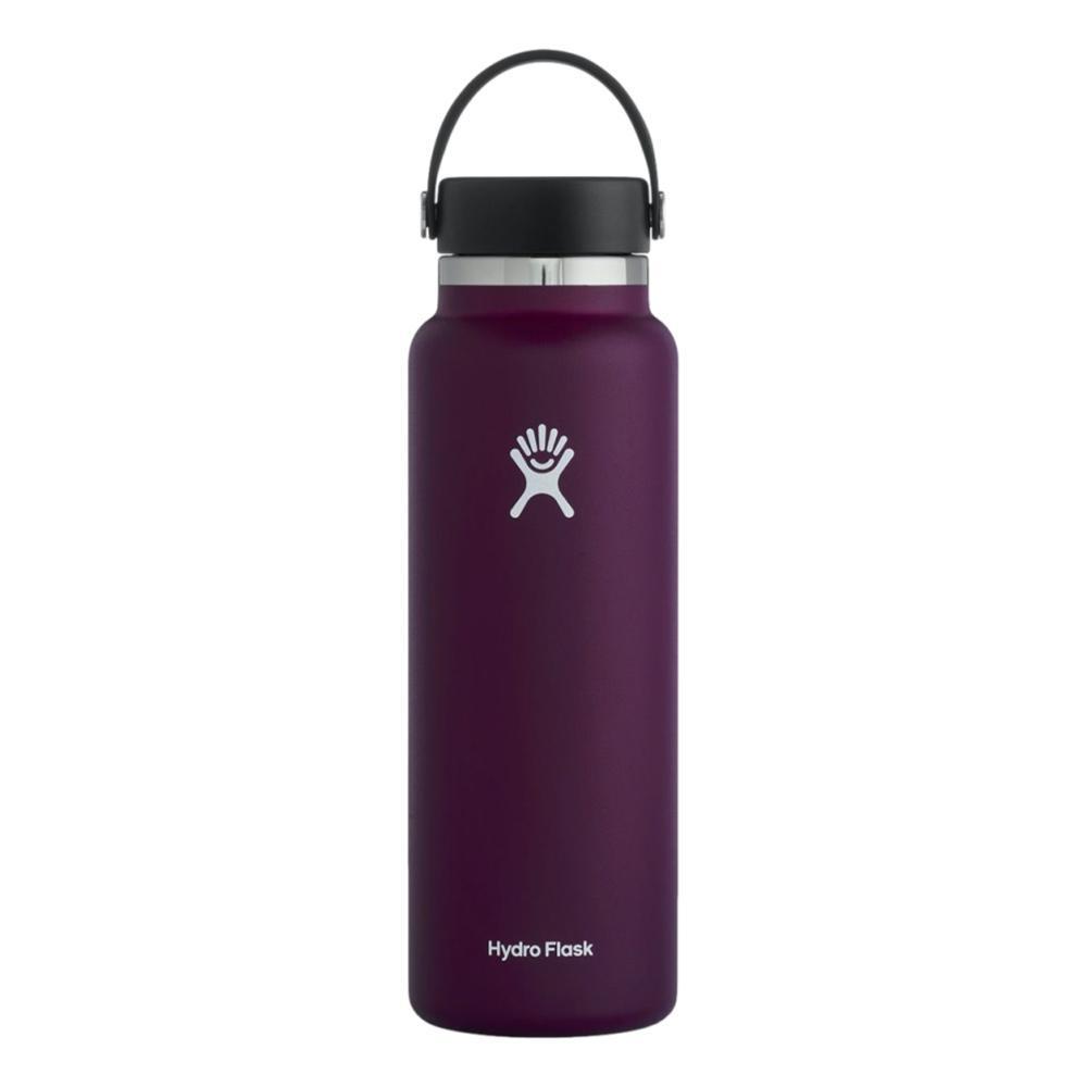 Hydro Flask Wide Mouth 40oz Bottle - Flex Cap EGGPLANT