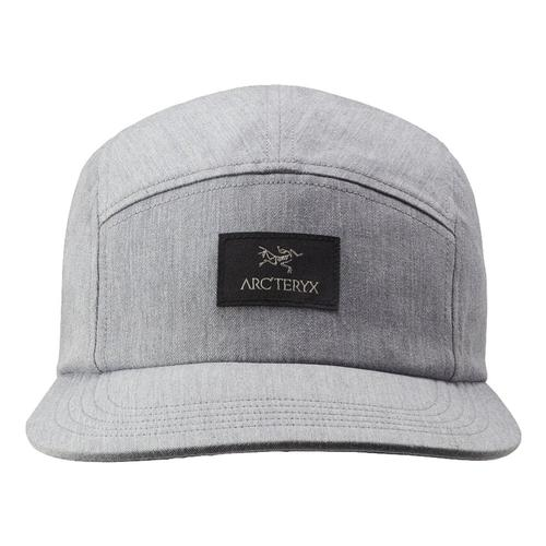 Arc'teryx 5 Panel Label Ball Cap Greyhth
