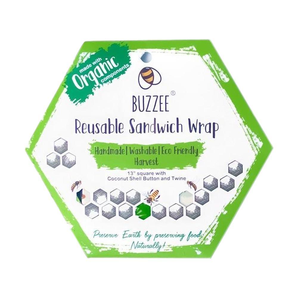 Buzzee Reusable Sandwich Wrap HARVEST