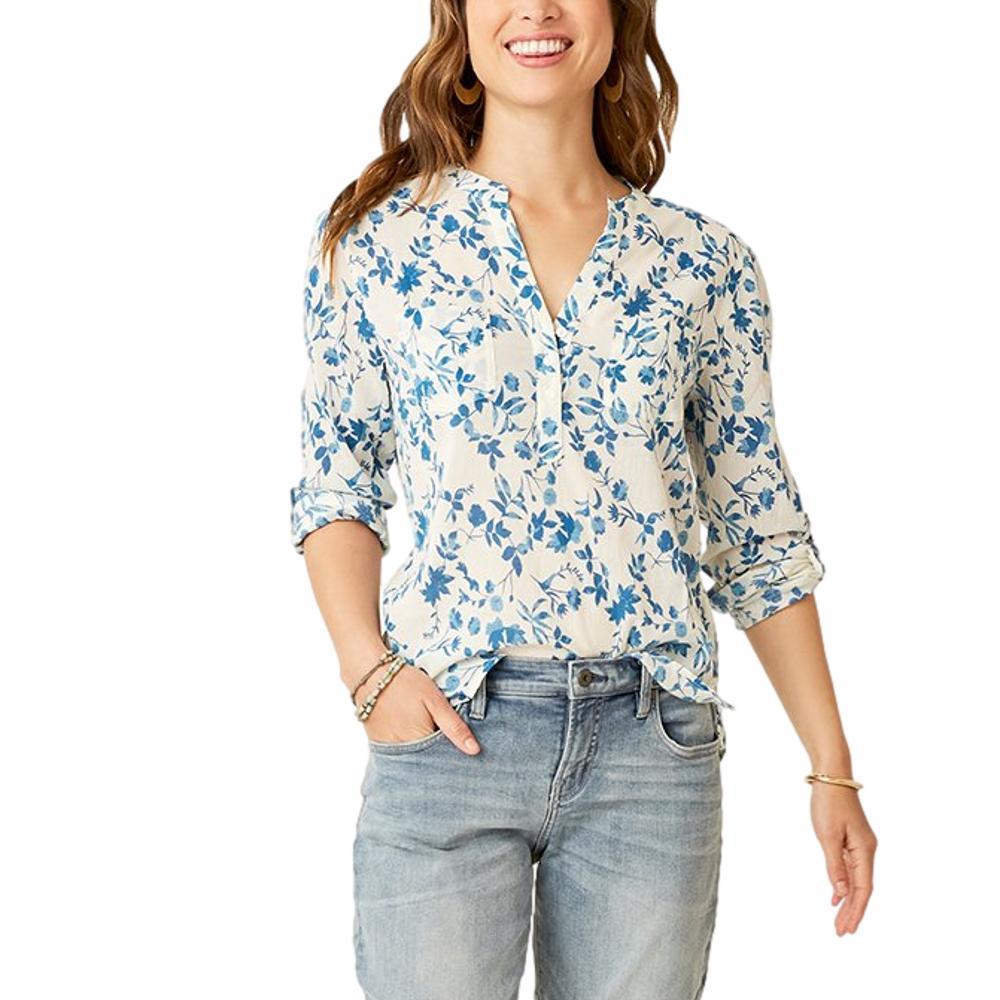 Carve Designs Women's Dylan Gauze Shirt KODIAK_442