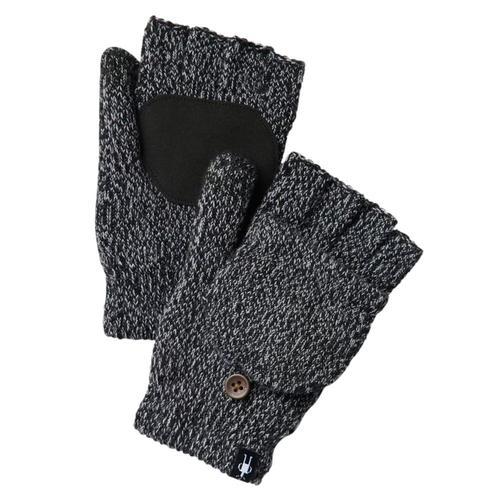 Smartwool Cozy Grip Flip Mitts Black_001