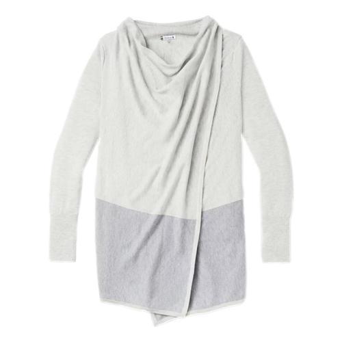 Smartwool Women's Edgewood Wrap Sweater Ashhth_047