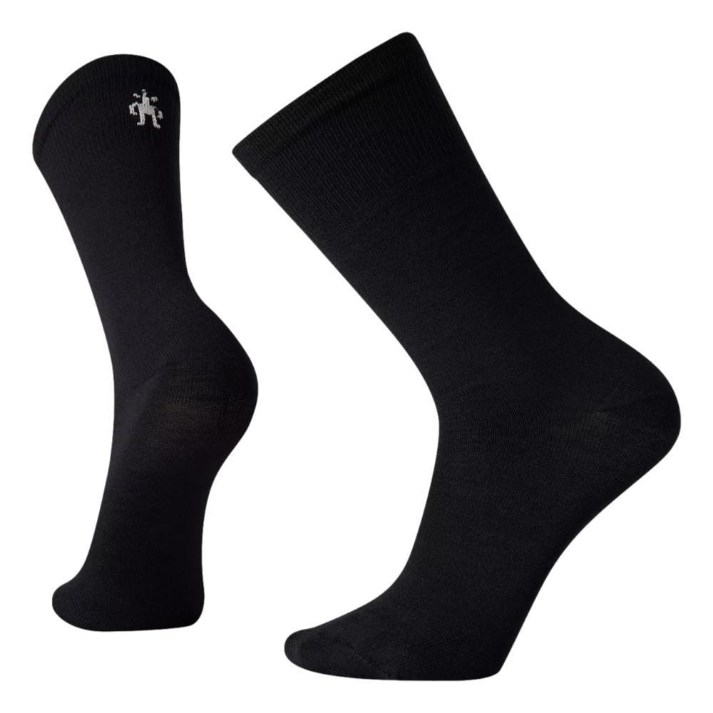 Smartwool Unisex Hike Classic Edition Zero Cushion Liner Crew Socks BLACK_001