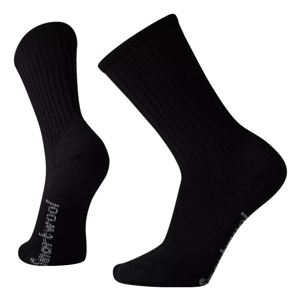 Smartwool Unisex Hike Classic Edition Light Cushion Solid Crew Socks BLACK_001