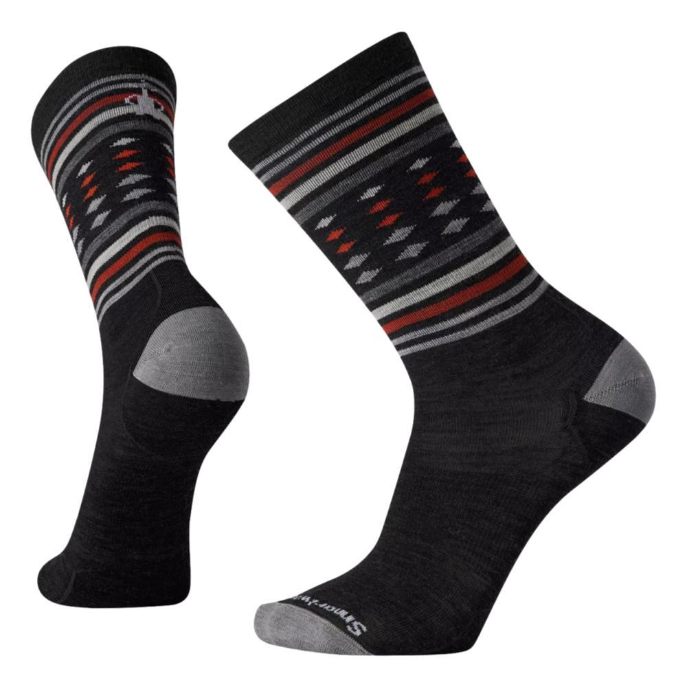 Smartwool Men's Everyday Classic Stripe Crew Socks CHARCOAL_003