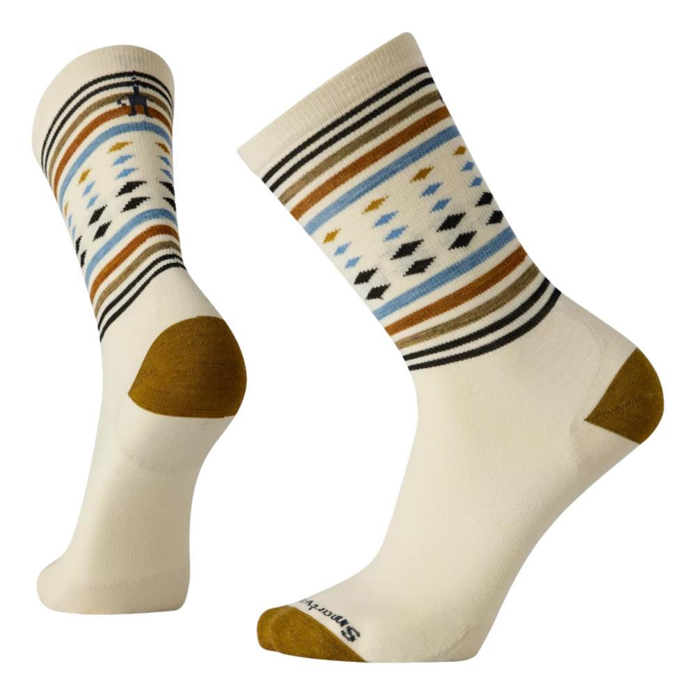 Smartwool Men's Everyday Classic Stripe Crew Socks NATURAL_100