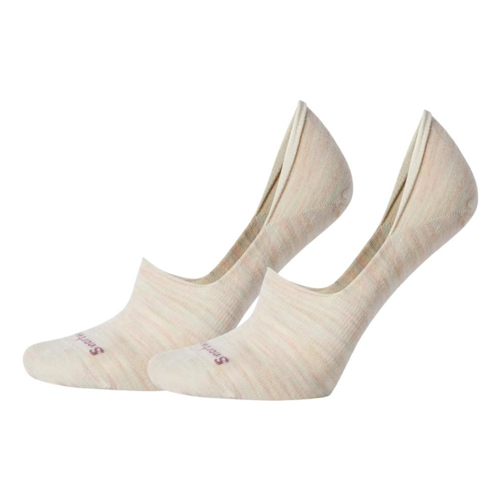 Smartwool Women's Everyday Hide And Seek No Show 2 Pack Socks MOONBEAM_A81
