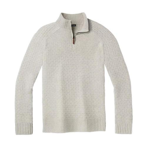 Smartwool Men's Cozy Lodge Half Zip Sweater Ash_047