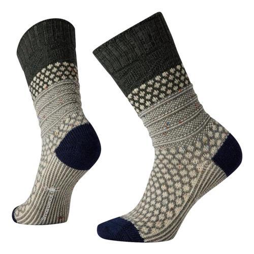 Smartwool Women's Popcorn Cable Socks Darksage_g51
