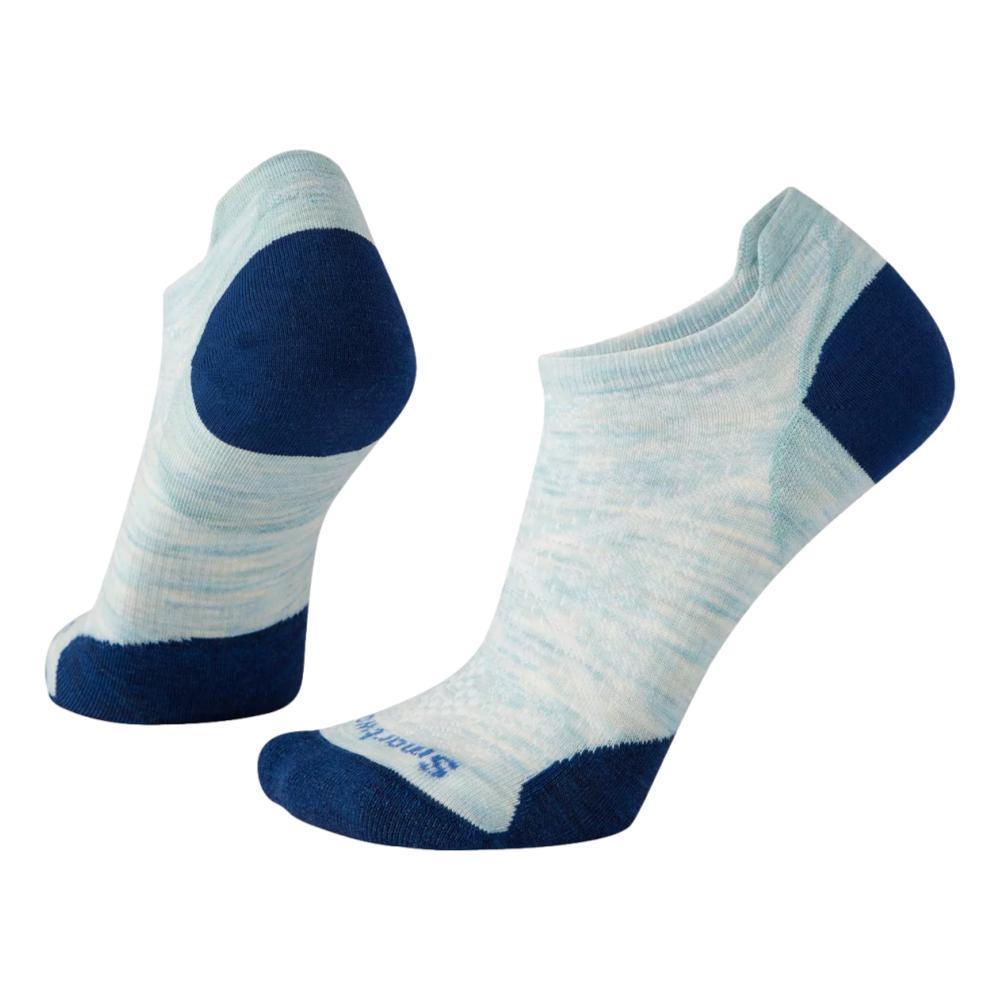 Smartwool Women's Run Zero Cushion Low Ankle Socks FROSTGREEN_B72