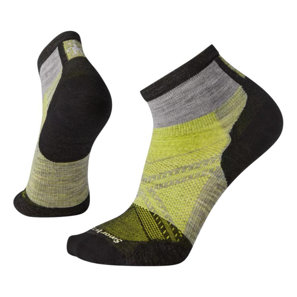 Smartwool Unisex PhD Cycle Ultra Light Pattern Mini Socks LIGHTGRAY_039