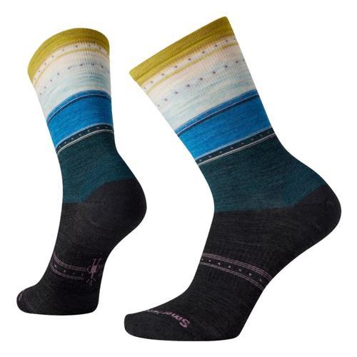 Smartwool Women's Everyday Stitch Stripe Crew Socks Charcoal_003