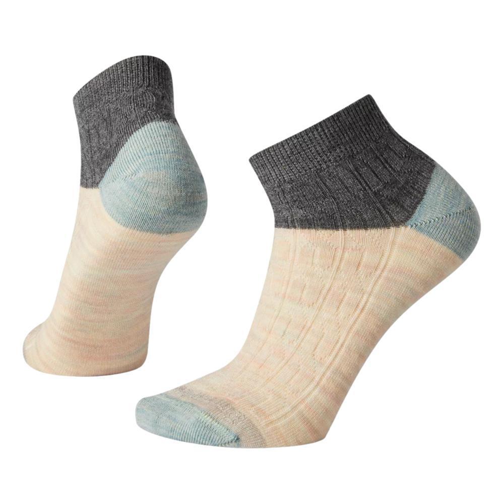 Smartwool Women's Cable Mini Boot Socks MEDIUMGRAY_052