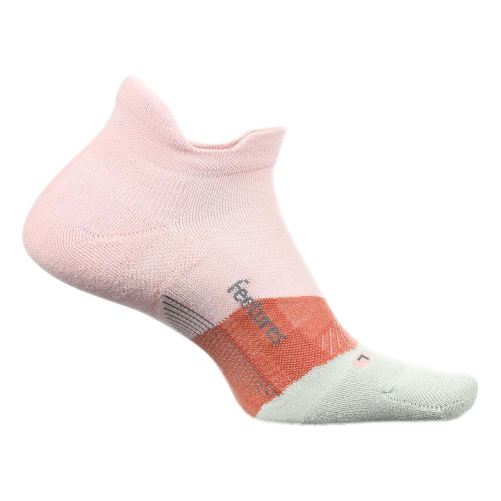 Feetures Unisex Elite Light Cushion No Show Tab Socks BLUSH