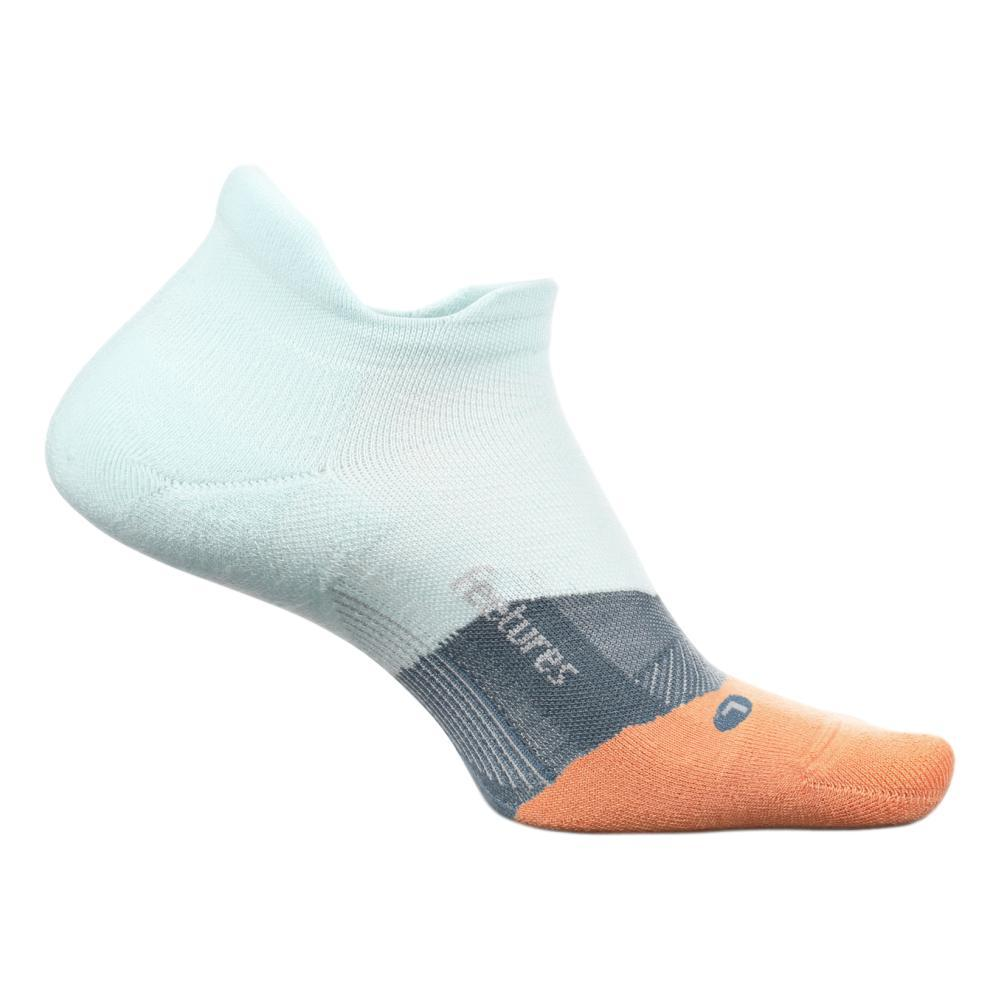 Feetures Unisex Elite Light Cushion No Show Tab Socks BLUEGLASS