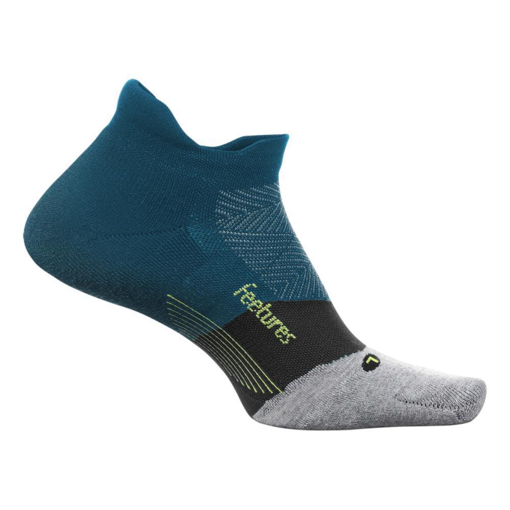 Feetures Unisex Elite Max Cushion No Show Tab Socks DEEPOCEAN