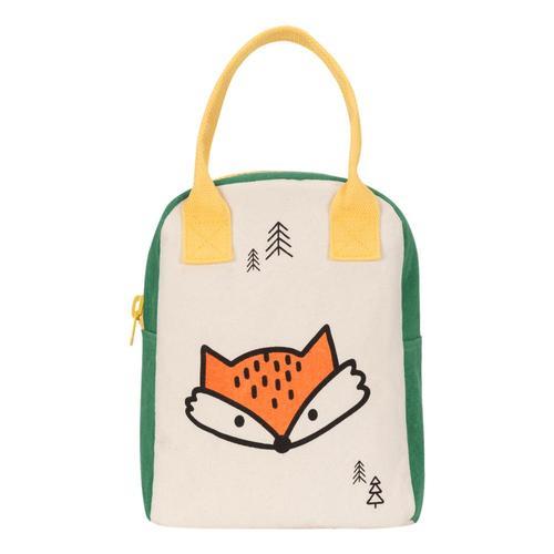 fluf Zipper Lunch Bag Fox