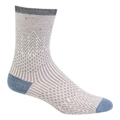 SockWell Women's Mountain Jacquard Essential Comfort Socks Hazeshimmer_820