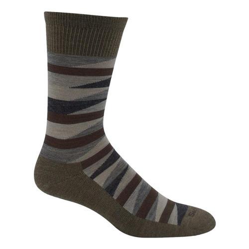 SockWell Men's Prism Essential Comfort Socks Khaki_030