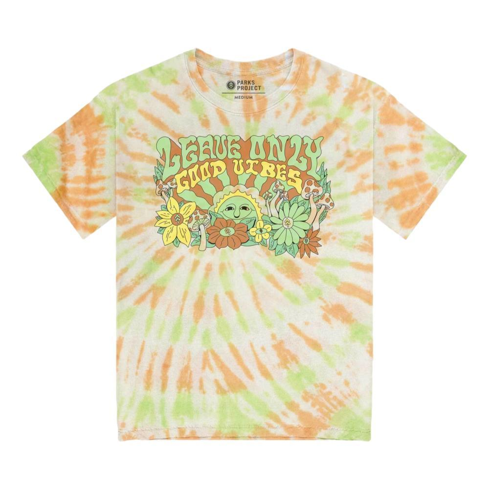 Parks Project Unisex Leave Only Good Vibes Tie Dye Tee Shirt TIEDYE_TIE