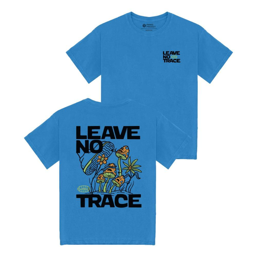 Parks Project Unisex Leave No Trace x Trampled Shrooms T-Shirt BLUE_SKBLU