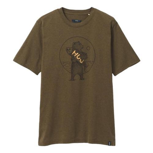 prAna Men's Bear Squeeze Journeyman 2 T-Shirt Peathth