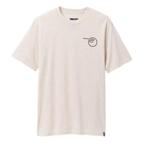prAna Men's Mountain Maven Short Sleeved T-Shirt Stonehth