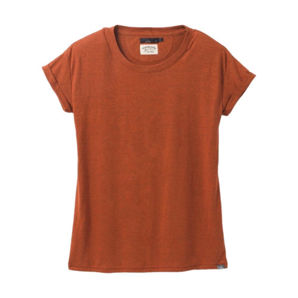 prAna Women's Cozy Up T-Shirt GINGERBREA