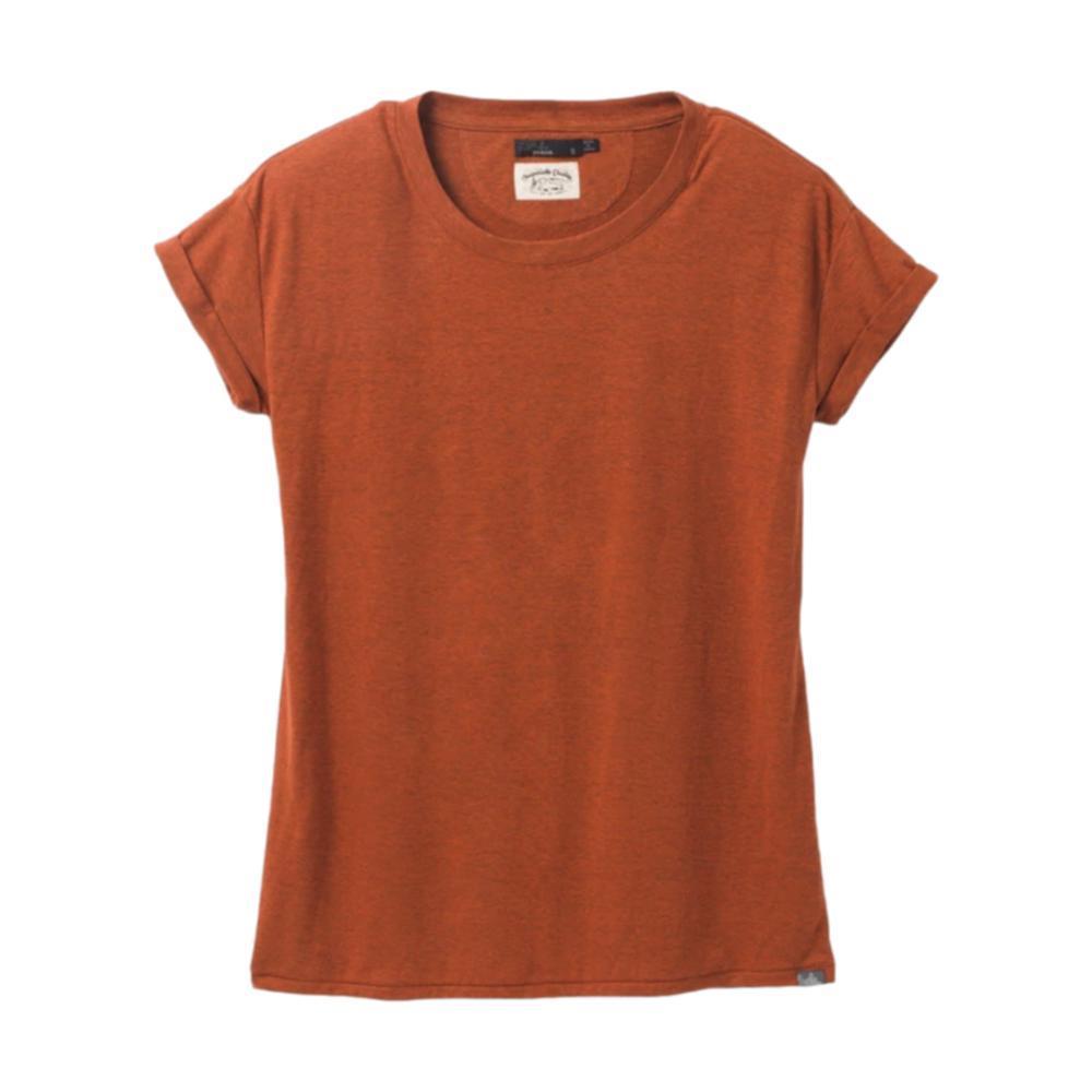 prAna Women's Cozy Up T-Shirt Plus GINGERBREA