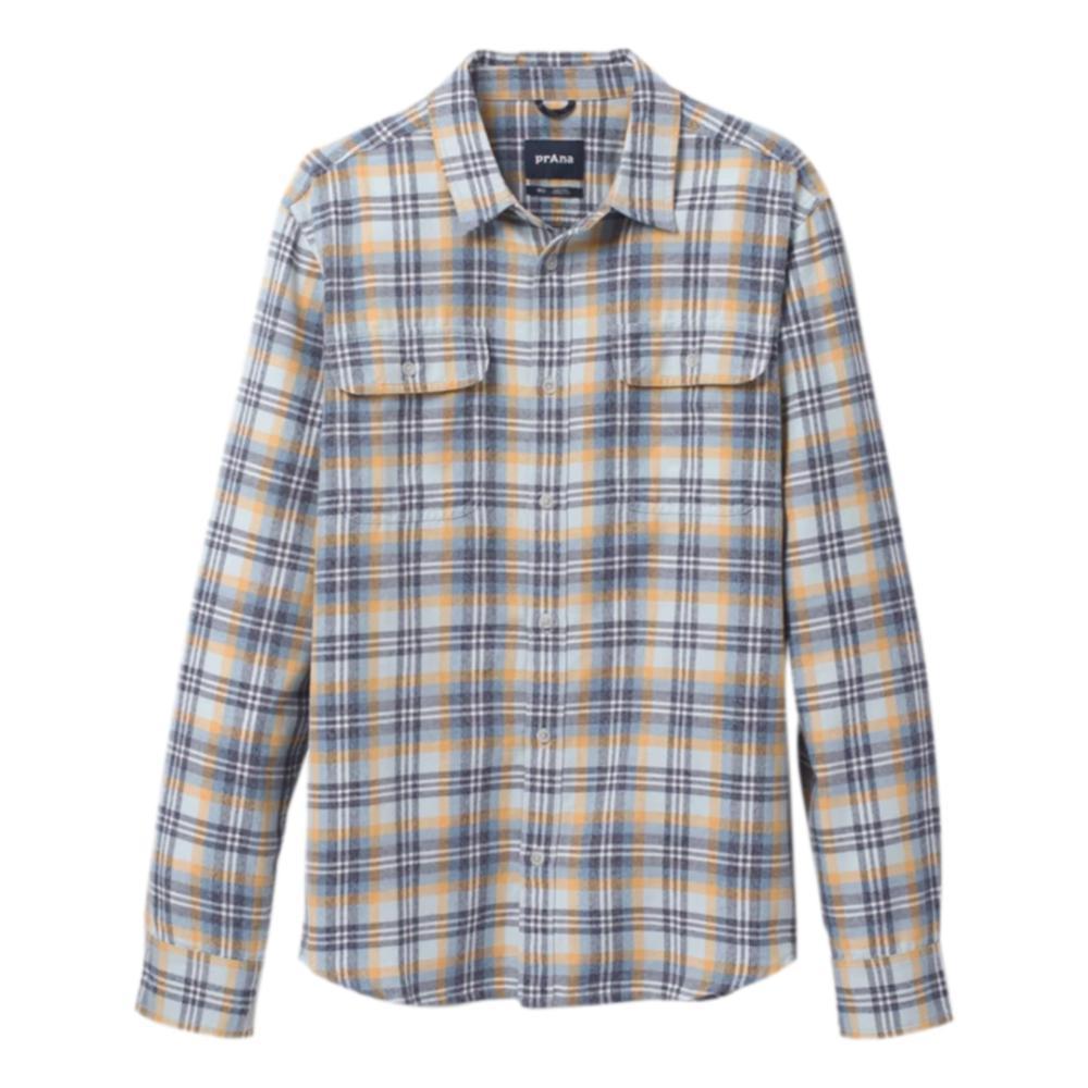 prAna Men's Edgewater Long Sleeve Shirt GLACIER