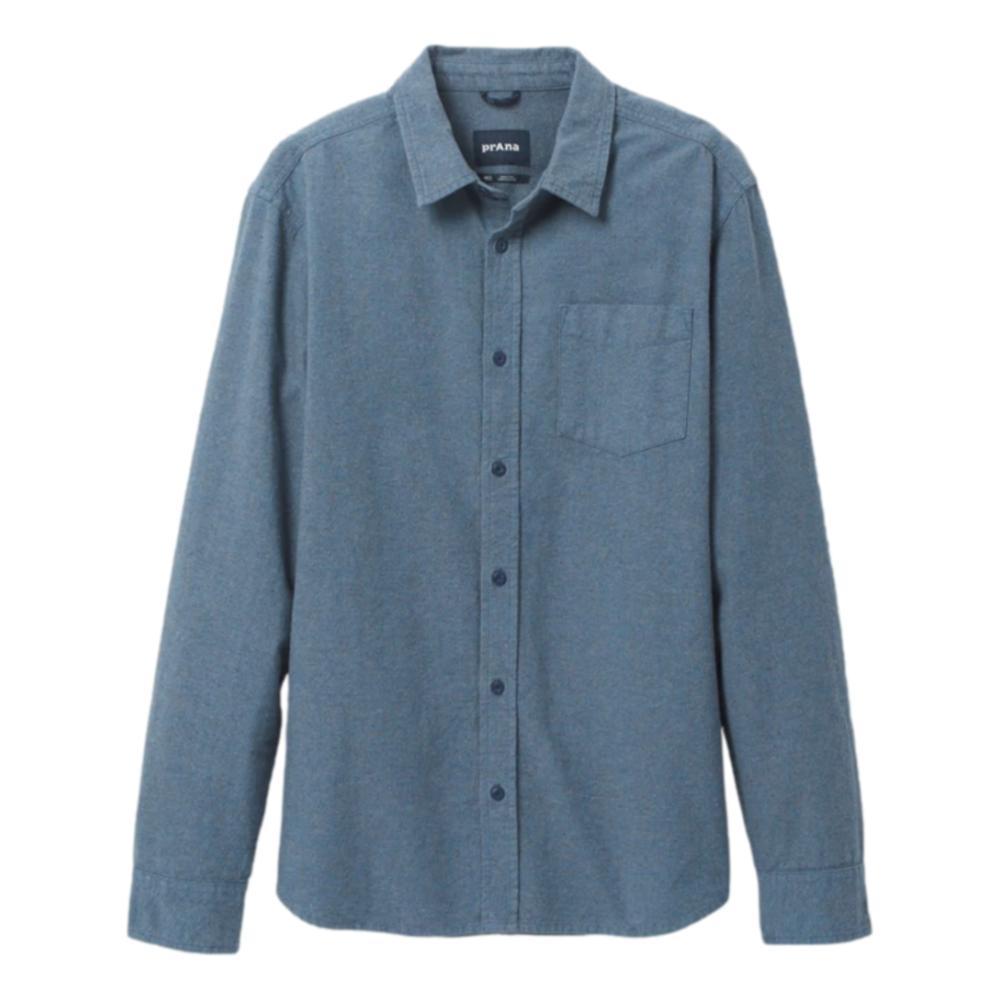 prAna Men's Hampstead Shirt DANISHBLUE