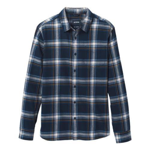 prAna Men's Los Feliz Flannel Shirt Nautical