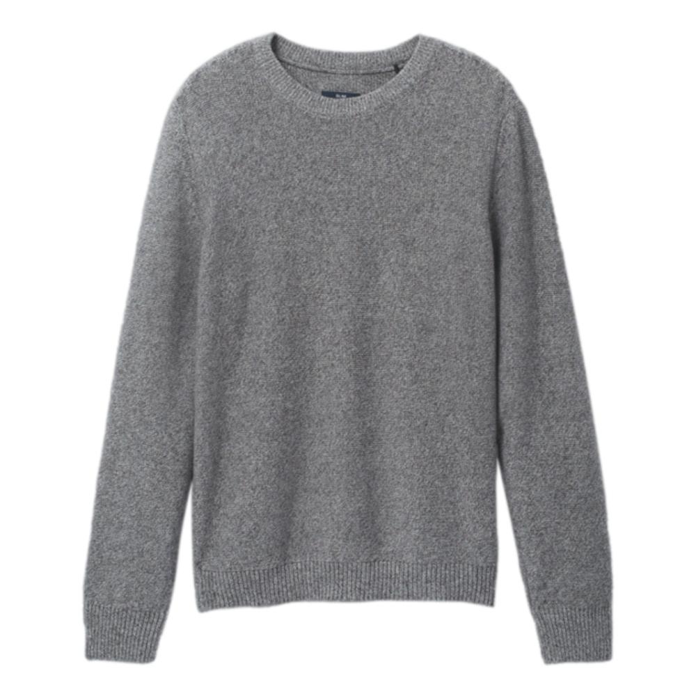 prAna Men's North Loop Sweater PEPPLEGREY