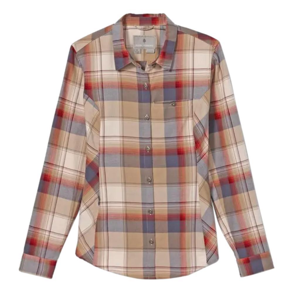 Royal Robbins Women's Dream Trekker Flannel Long Sleeve Shirt GREYST_546