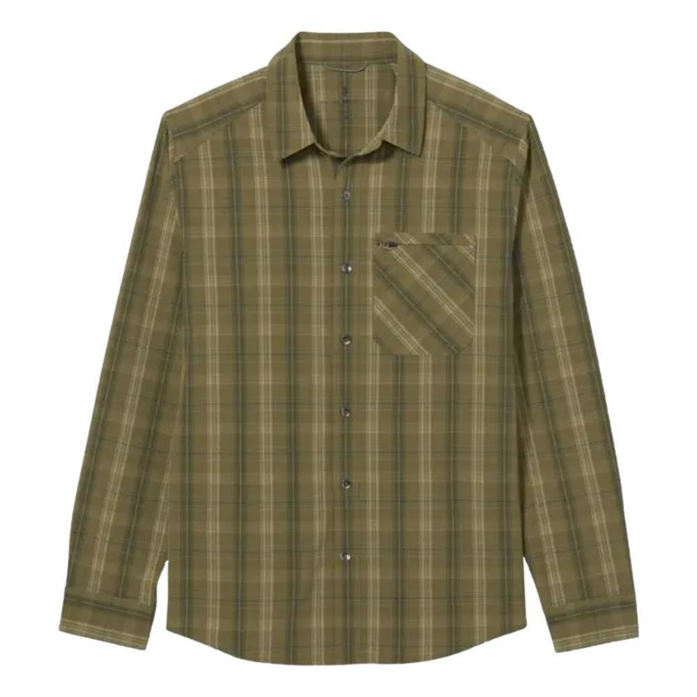 Royal Robbins Men's Spotless Plaid Long Sleeved Shirt LIZARD_605