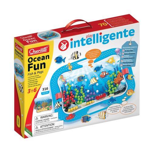 Quercetti Ocean Fun Fish and Pegs