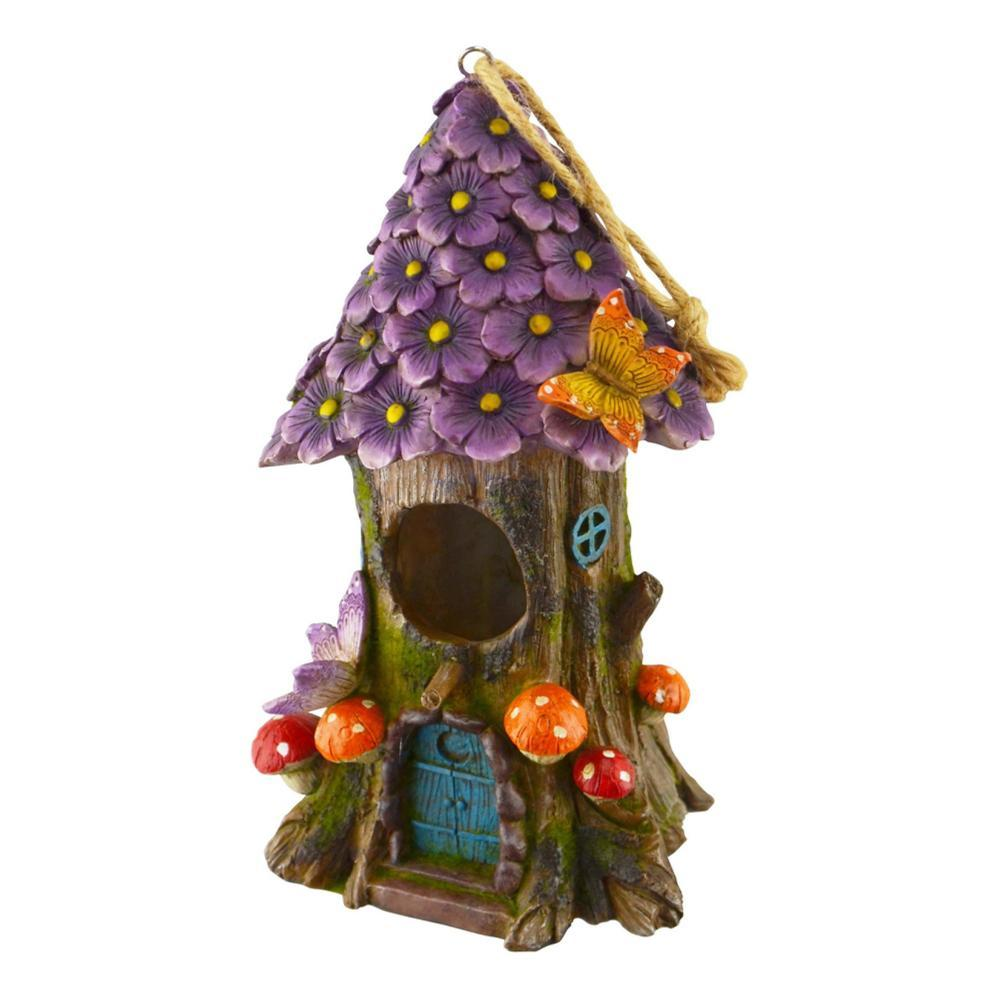 Red Carpet Studios Flowers And Tree Bird House