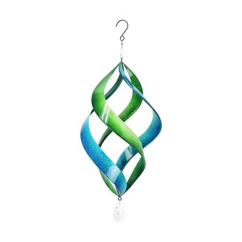 Red Carpet Studios Green and Blue Cosmix Wind Spinner