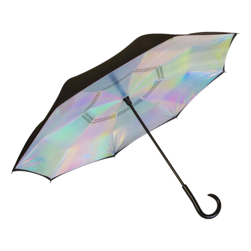 ShedRain UnbelievaBrella Reverse Umbrella BLK_IRID.PINK