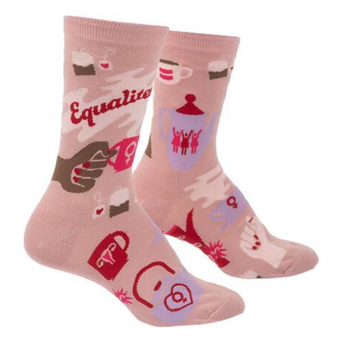 Sock It to Me Equalitea Women's Crew Socks Dino