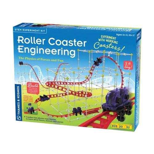 Thames & Kosmos Roller Coaster Engineering Kit