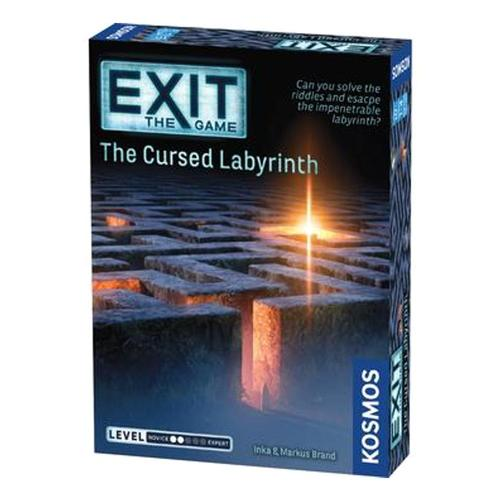 Thames and Kosmos Exit: The Cursed Labyrinth Board Game