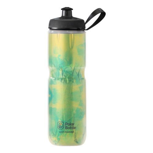 Polar Bottle Sport Insulated 24 oz Fly Dye Water Bottle Lemon_lime