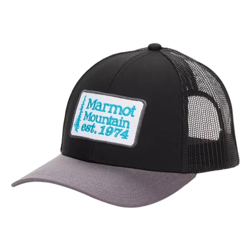 Marmot Men's Retro Trucker Hat BLKSTE_568