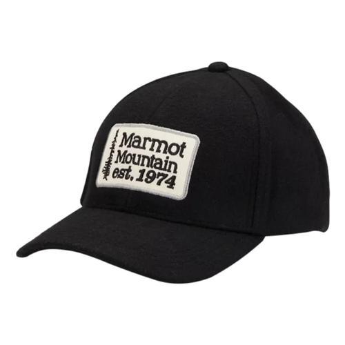 Marmot Men's Retro Wool Hat Black_001